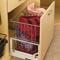 Custom Closets and Storage Solutions - Detroit MI | Great Lakes Garage - acc-clothes-basket