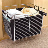 Custom Closets and Storage Solutions - Detroit MI | Great Lakes Garage - acc-hamper