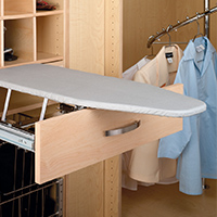 Custom Closets and Storage Solutions - Detroit MI | Great Lakes Garage - acc-ironing-board