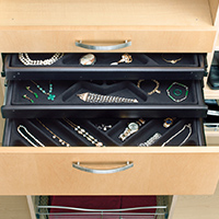 Custom Closets and Storage Solutions - Detroit MI | Great Lakes Garage - acc-jewelry-drawer