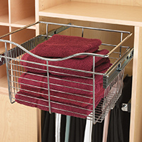 Custom Closets and Storage Solutions - Detroit MI | Great Lakes Garage - acc-large-basket-open