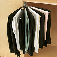 Custom Closets and Storage Solutions - Detroit MI | Great Lakes Garage - acc-pant-hangers