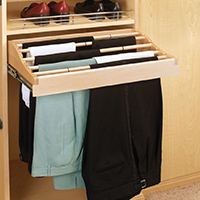 Custom Closets and Storage Solutions - Detroit MI | Great Lakes Garage - acc-pant-rack