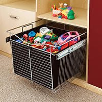 Custom Closets and Storage Solutions - Detroit MI | Great Lakes Garage - acc-toy-bin