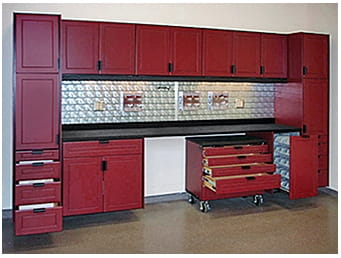 Custom Garage Cabinets Detroit & Epoxy Floors | Great Lakes Garage - toolset