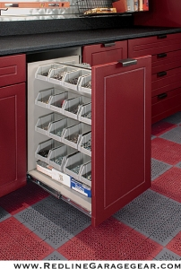 Storage Closet Contractor Bloomfield Hills MI | Great Lakes Garage - Cabinet_4