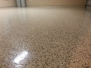 Epoxy Flake Floor Installation Detroit Mi Great Lakes
