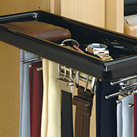 Custom Closets and Storage Solutions - Detroit MI | Great Lakes Garage - acc-tie-rack-drawer
