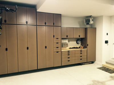 Custom Garage Cabinets Detroit U0026 Epoxy Floors | Great Lakes Garage    Cabinets Garage