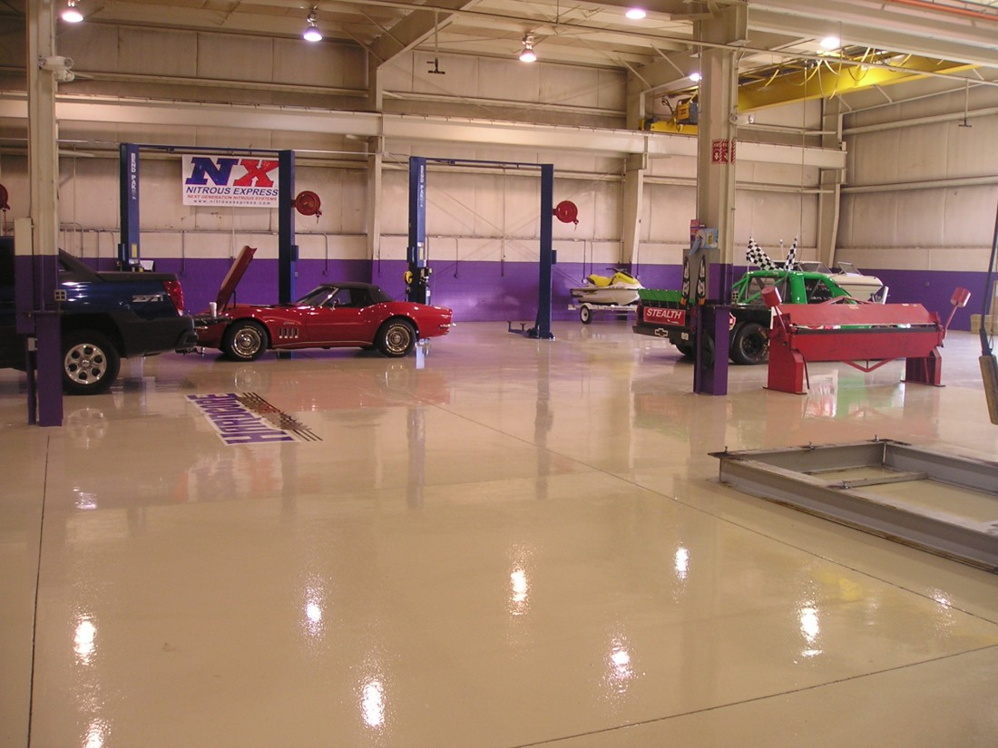 Garage Epoxy Floors Michigan: Installation | Great Lakes Garage - epoxyfloor